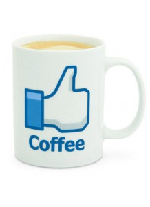 Dareky - Facebook hrnek - Coffe